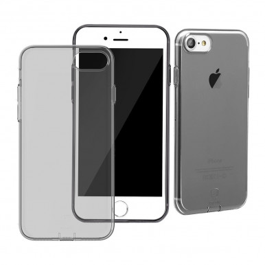 Накладка Baseus Simple Series Clear TPU Silicone для iPhone 7, серый