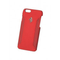 Кожаный чехол для iPhone 6/6S Ferrari F12 Hard Red (FEF12HCP6RE)