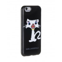 Чехол-накладка для iPhone 6 Plus / 6S Plus Karl Lagerfeld Monster Choupette Hard, Black (KLHCP6LMC2BK)