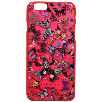 Накладка для iPhone 6/6S Lacroix Butterfly Hard Pink (CLBPCOVIP64P)