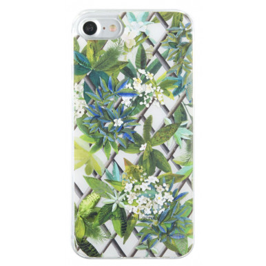 Чехол-накладка для iPhone 7 Christian Lacroix Canopy Hard Malachite, White (CLCNCOVIP7W)