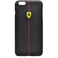 Накладка Ferrari для iPhone 6 Plus / 6S Plus Formula One Hard (FEFOCHCP6LBL) черный