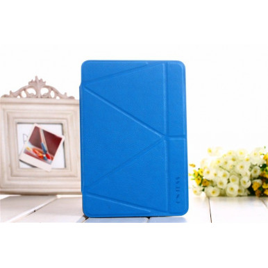 Чехол-книга Onjess Origami Stand Leather Smart Case для iPad Mini 4, синий