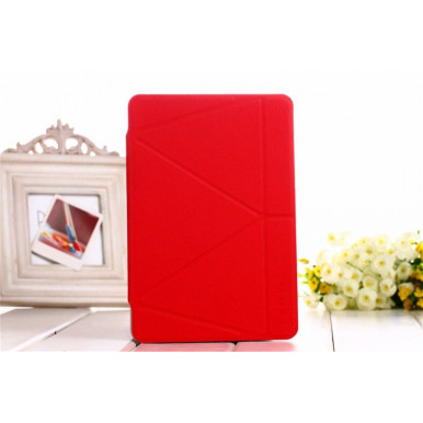 Чехол-книга Onjess Origami Stand Leather Smart Case для iPad Air 2, красный