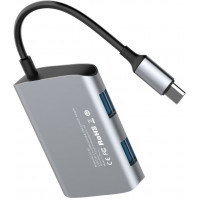 USB-концентратор Baseus Enjoyment series USB-C to 2xUSB 2.0/USB 3.0 (CATSX-A0G)