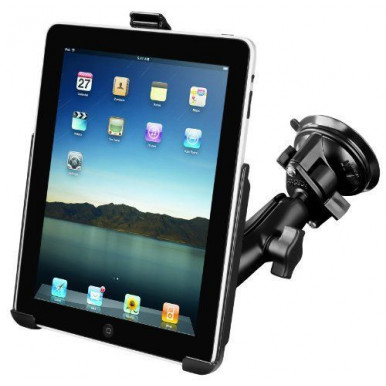 Автодержатель RAM Twist Lock Suction Cup Mount (RAM-B-166-AP8U) для iPad, iPad 2/3