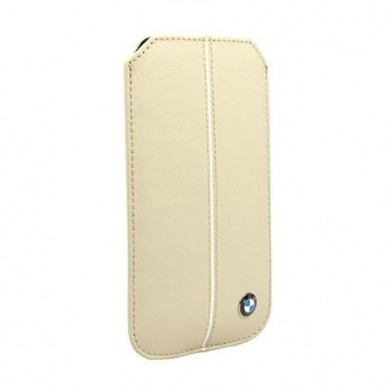 Чехол BMW для iPhone 5S / SE Signature Sleeve Cream (BMPOP5LC)
