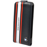 Чехол для iPhone 5S / SE BMW Motorsport Flip Navy blue (BMFLP5SN)