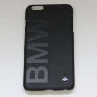 Накладка BMW для iPhone 6 Plus / 6S Plus Logo Signature Hard (BMHCP6LLOB) черный