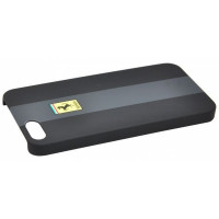 Накладка Ferrari для iPhone 5/5S Rubber Black FERU5GBL