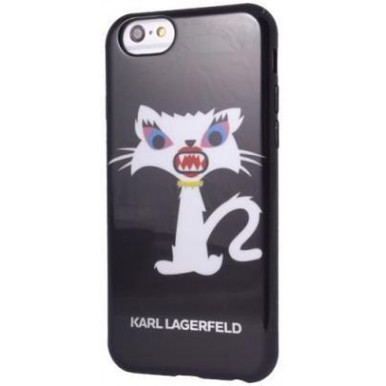 Накладка Karl Lagerfeld для iPhone 6/6S Monster Choupette Hard (KLHCP6MC2BK) черный